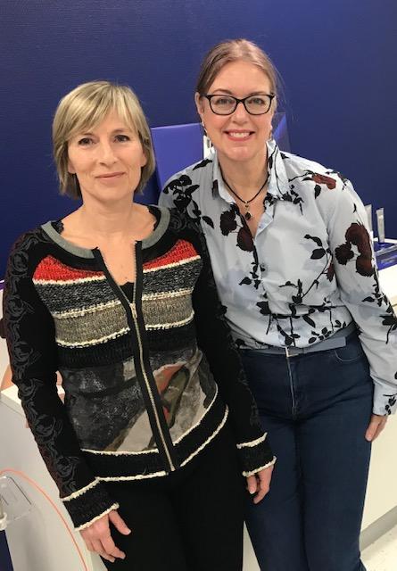 Odile en Monique bij JC Imp voor Endymed