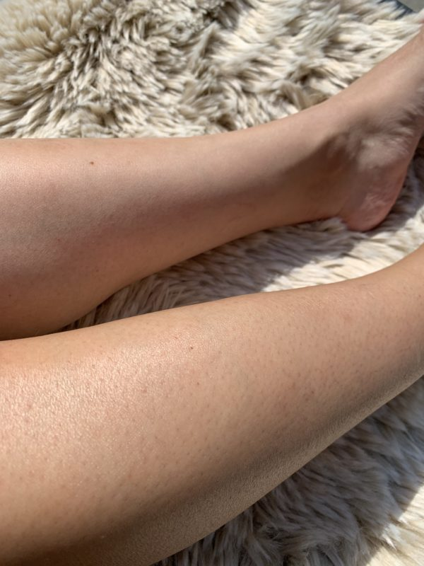 bruine benen