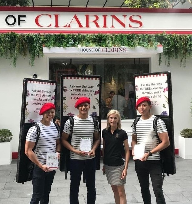clarins house