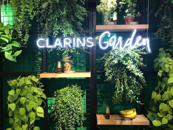 clarins garden