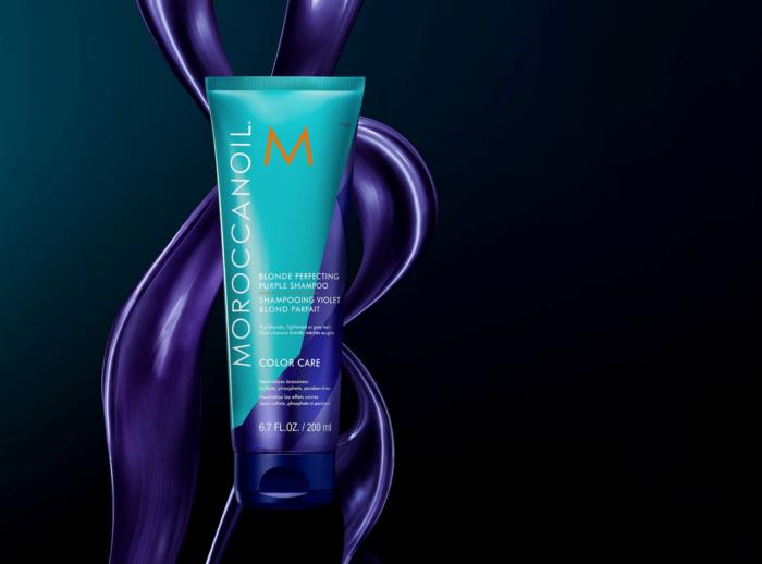 moroccanoil purple shampoo