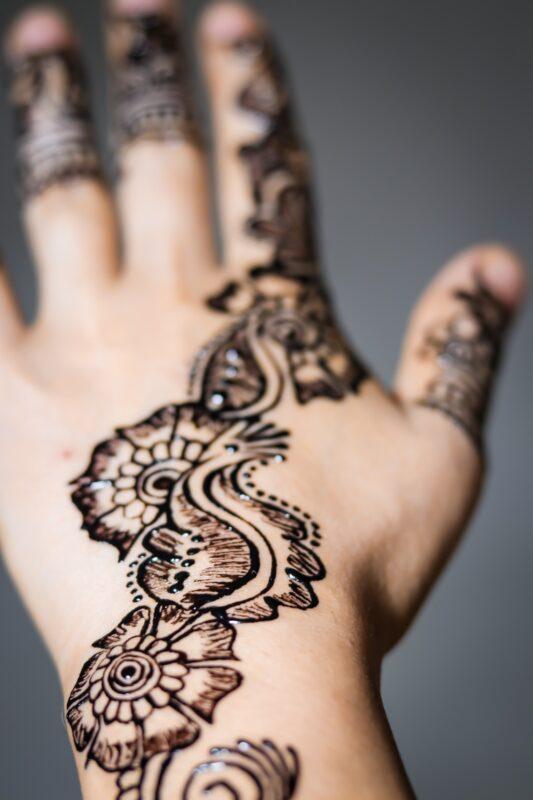 zwarte henna