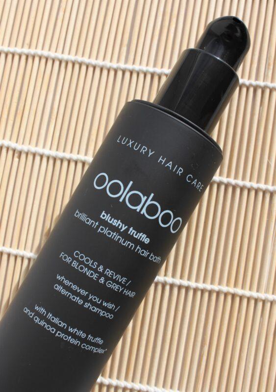 blushy truffle hair bath