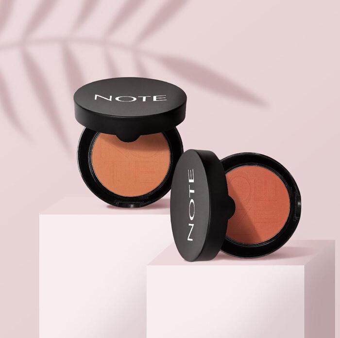 note cosmetique blush