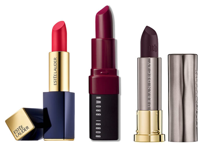 donkere lipstick