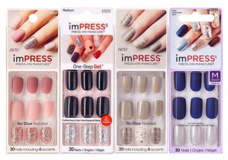 kiss press on nagels
