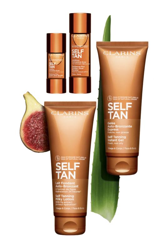 clarins self tan