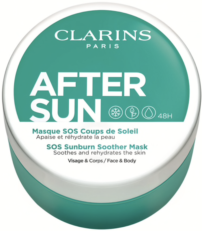 clarins aftersun mask