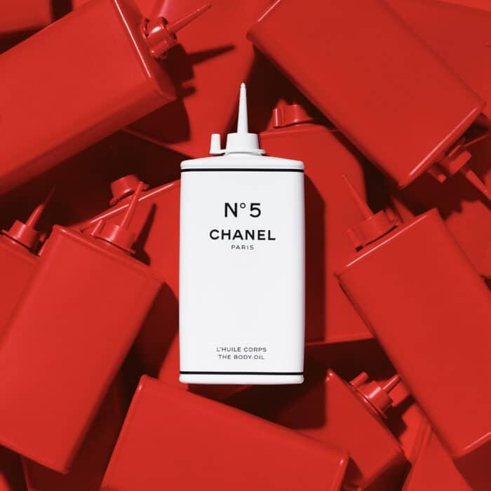 Chanel body oil