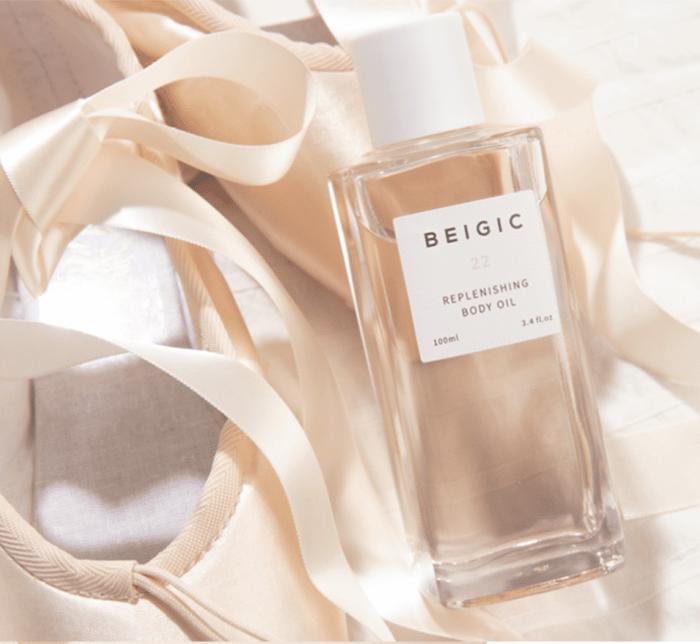 beigic body oil