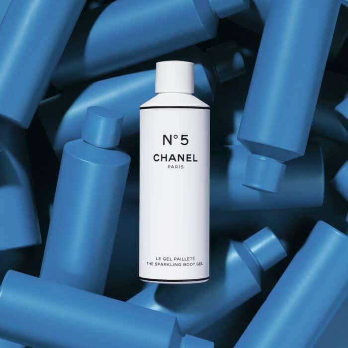 chanel sprakling body gel