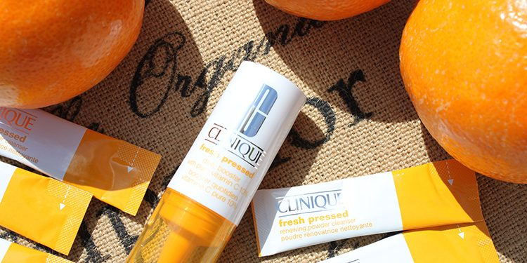 Clinique Fresh Pressed Homepage