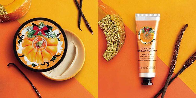 Homepage Body Shop Vanilla Pumpkin