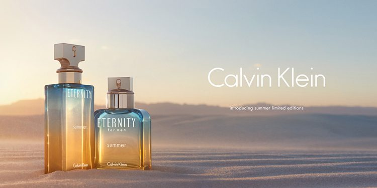 Homepage Calvin Klein ETERNITY Summer COTY