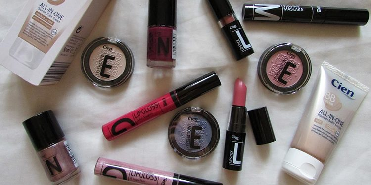 Homepage Cien Make-Up