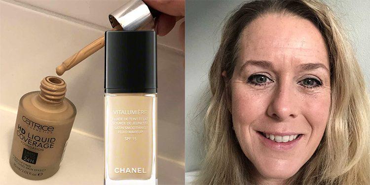 Favoriete Foundation Sabine Chanel en Catrice