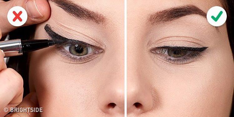 Homepage Fouten Eyeliner