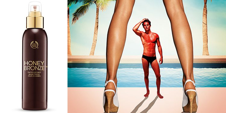 Homepage Honey Bronze Tinted Leg Mist