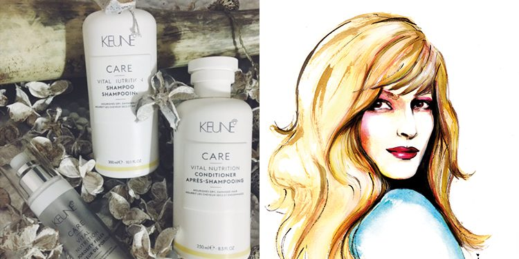 Homepage Keune Care Vital Nutrition Danielle