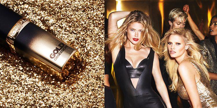 Homepage L'Oreal Color Riche Gold Obsession