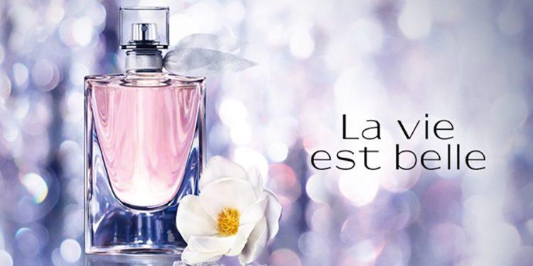Homepage Lancome La Vie est Belle Florale
