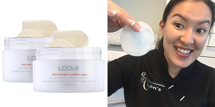 Homepage Lookx Derma Skin Polish Pads