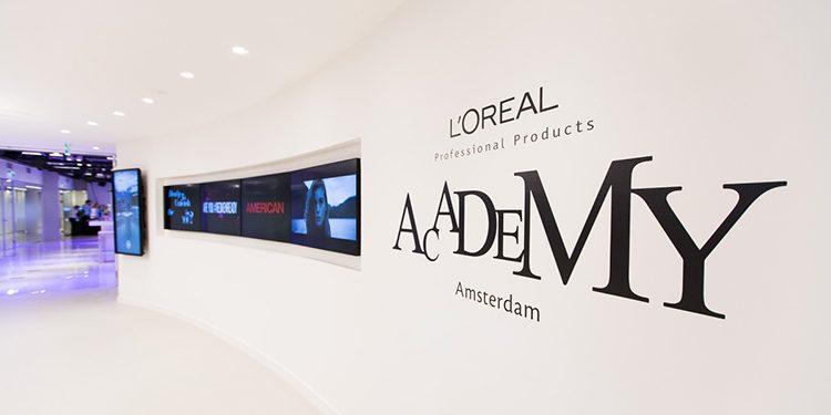 Homepage Loreal Academy