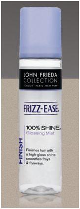John Frieda glossing mist 100 procent shine