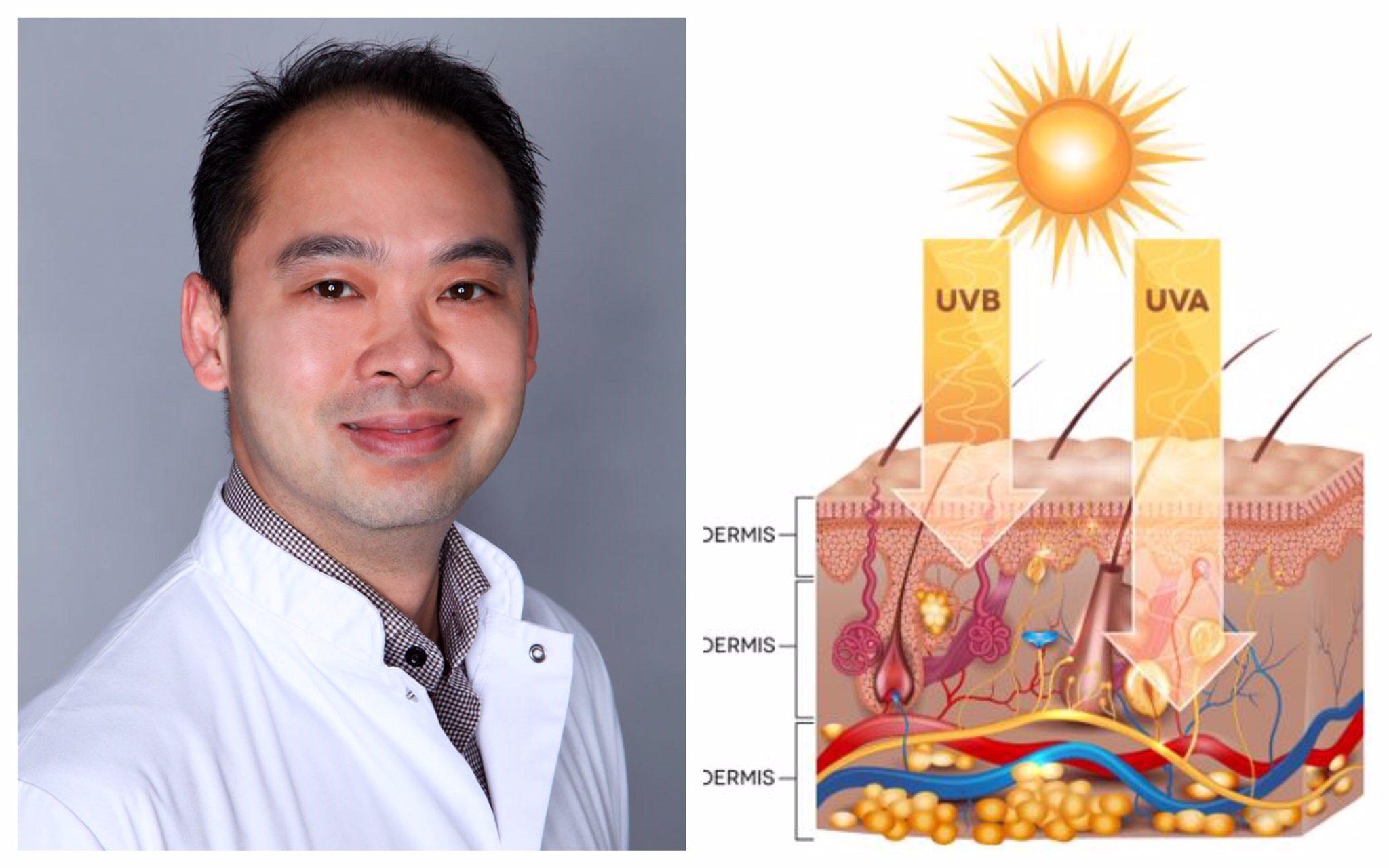 UA uv en microbioom