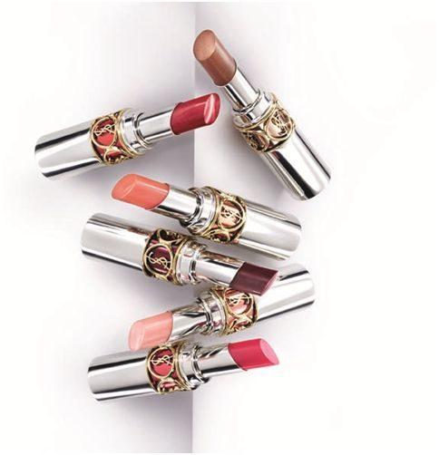 YSL zomermakeup 2011 fel transparante lipsticks