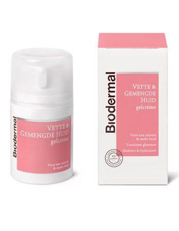 Jolanda test Biodermal gelcrème voor vette huid