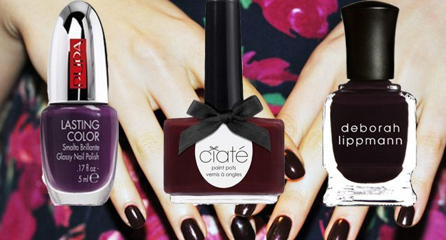 Shop the look: burgundy nails!