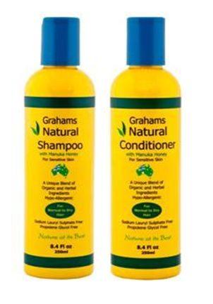 grahams natural shampoo and conditioner