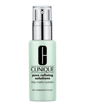 Harriet test Clinique's Pore Refining Stay-Matte Hydrator