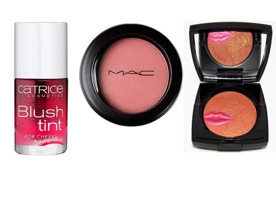 Judy test blushes van M.A.C, Lancôme + Catrice