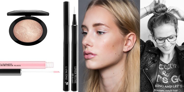 kerstlook eyeliner white
