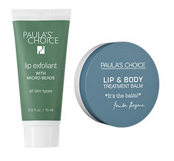 lipexfoliant en lip en body balm paula's choice
