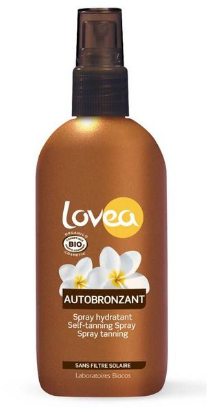 lovea bio selftanning spray