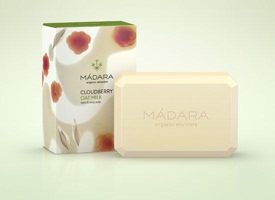 Maxim test Madara Cloudberry Oat Milk zeep