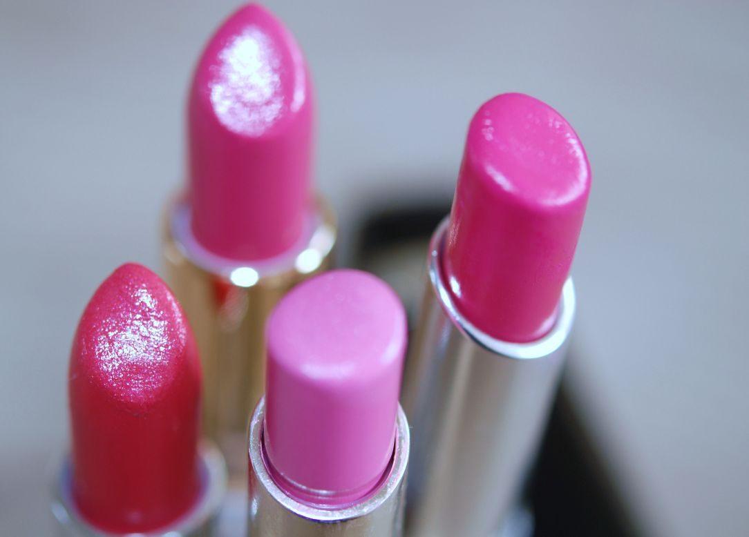 mijn favoriete roze lipstick
