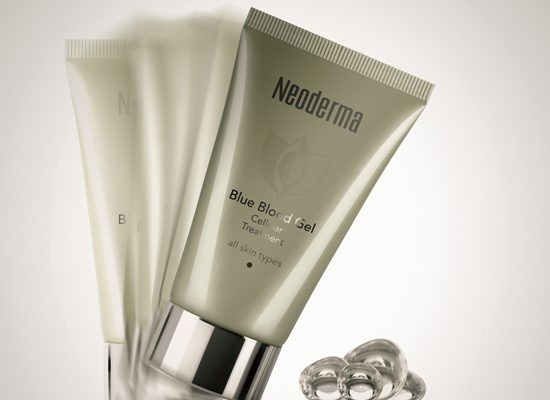 Neoderma: Blue Blood Gel, de royal onder de producten