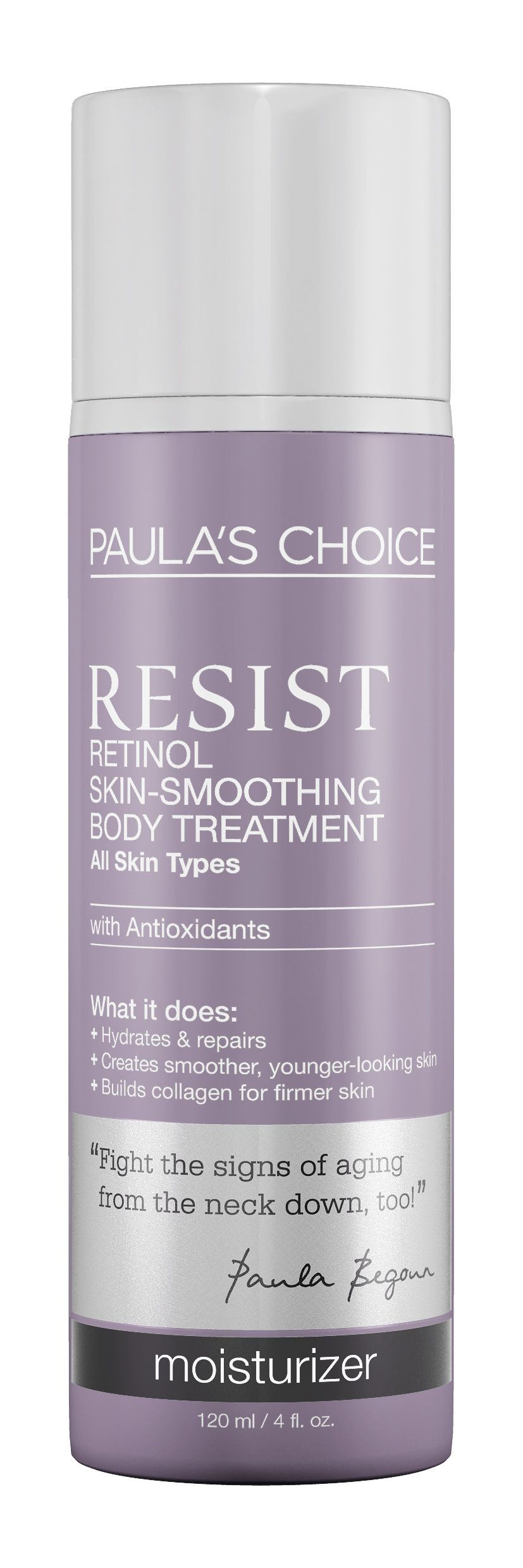 Jolanda smeert zich strak met Paula's Choice Retinol Smoothing Body Treatment
