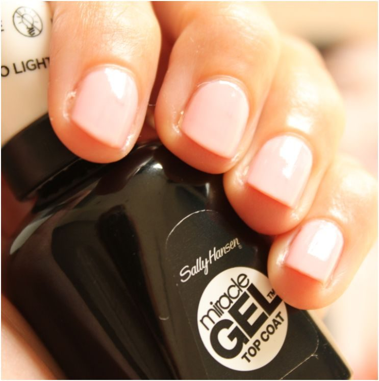 Sally Hansen Miracle Gel inclusief topcoat
