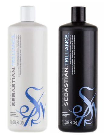 Alexandra test Sebastian Trilliance shampoo & conditioner