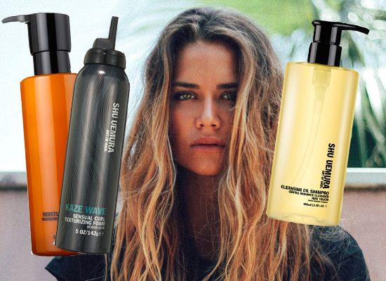 Harriet test Shu Uemera shampoos, conditioner en mousse