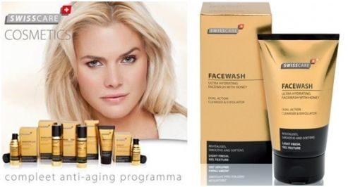 swisscare face wash screen