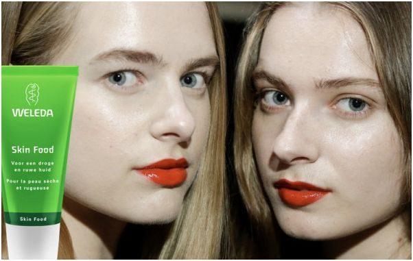weleda skinfood fashionweek