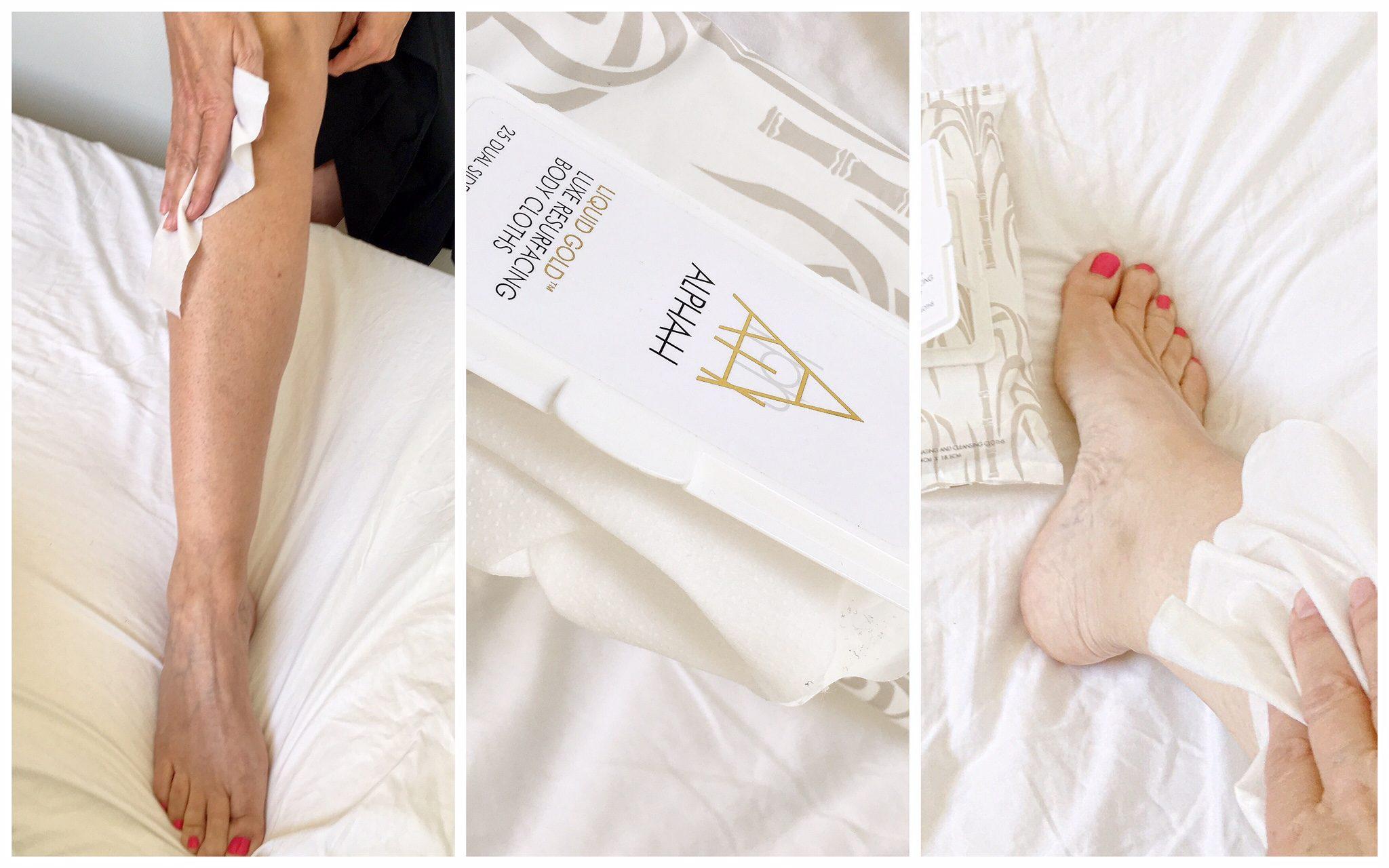 alpha h body cloths