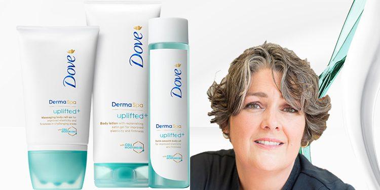 Homepage Dove DermaSpa Uplifted Els