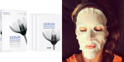 Homepage Kenzo Serum in a Mask